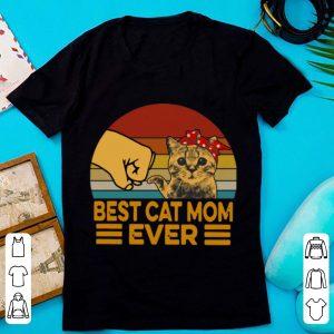 Original Vintage Best Cat Mom Ever shirt