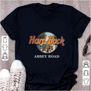 Premium Abbey Road Hard Rock Cafe the beatles shirt