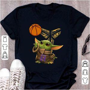 Premium Baby Yoda Kobe Bryant Black Mamba Basketball shirt