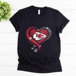 Premium Heart Diamond Kansas City Chiefs Super Bowl Champions shirt