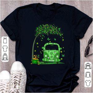 Premium Hippie Van St Patrick's Day shirt