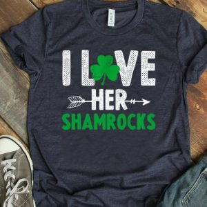 Premium I Love Her Shamrocks St. Patrick's Day shirt