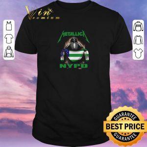 Premium Metallica mashup NYPD New York City Police Department flag shirt sweater