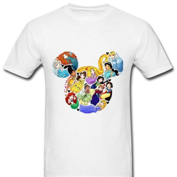 Premium Mickey Mouse All Princess Walt Disney shirt