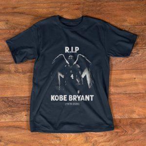 Premium Rip Kobe Bryant number 4 1978-2020 shirt