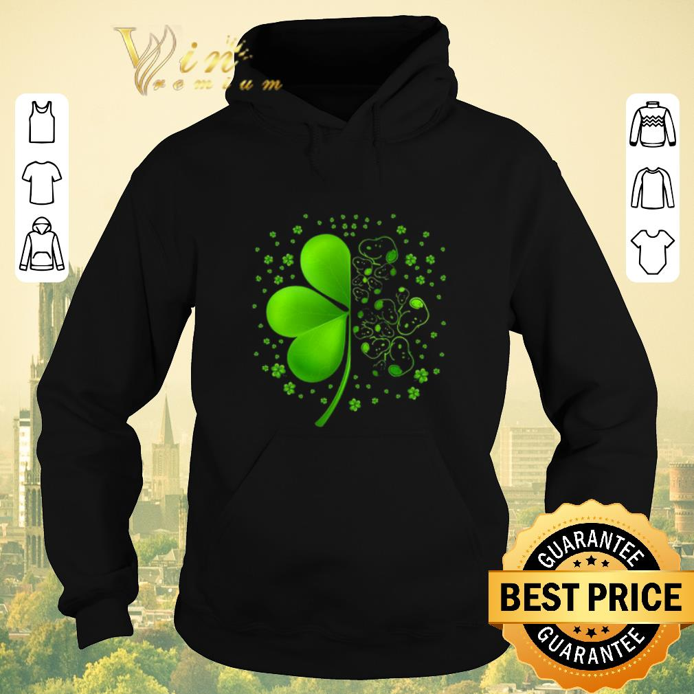 Premium Snoopy Shamrock St Patrick s day shirt sweater 4 - Premium Snoopy Shamrock St. Patrick's day shirt sweater
