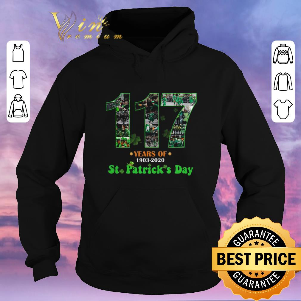 Pretty 117 Years Of 1903 2020 St Patrick s Day shirt sweater 4 - Pretty 117 Years Of 1903 2020 St. Patrick's Day shirt sweater