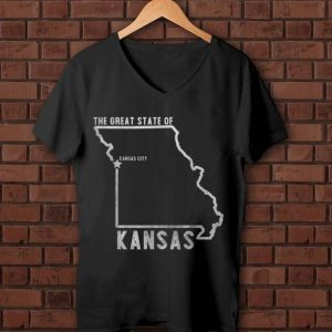 Pretty Great State Of Kansas City Kansas City Chiefs shirt