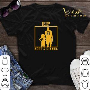 Rip Kobe Bryant and Gianna RIP GirlDad Kobe And Gigi shirt sweater