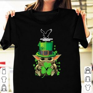Top Baby Yoda American Eagle Outfitters Shamrock St.Patrick's Day shirt