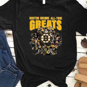 Top Boston Bruins all time greats legend signatures shirt