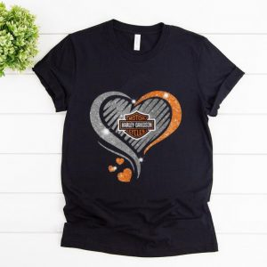 Top Heart Diamond Motor Harley Davidson Cycles shirt
