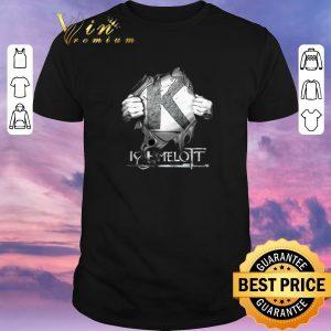Top Kaamelott Logo inside me shirt sweater