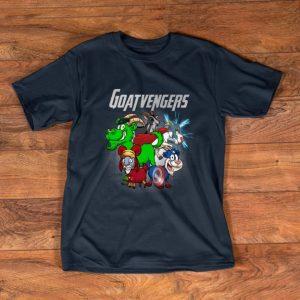 Top Marvel Avengers Endgame Goat Goatvengers shirt