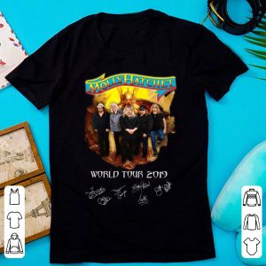 Top Molly Hatchet world tour 2019 signatures shirt