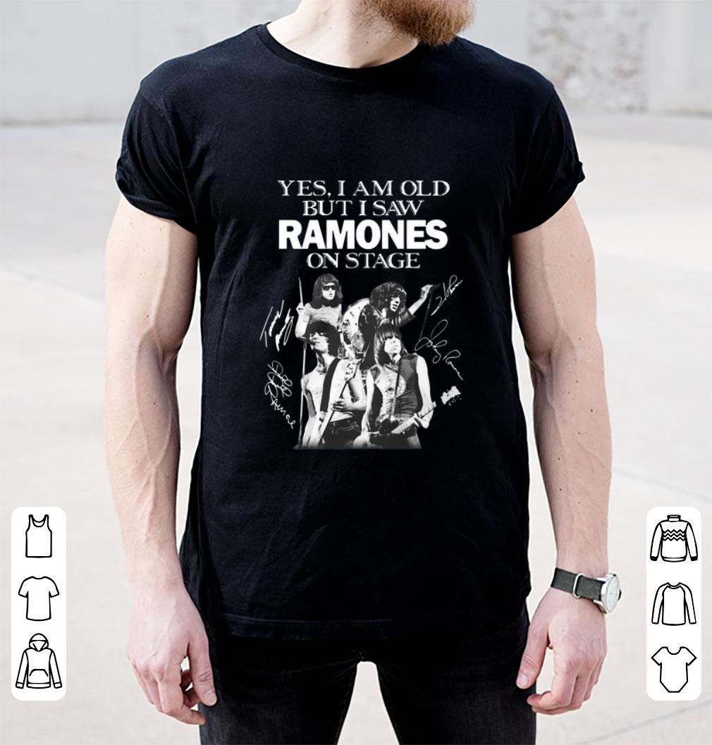 the roots ramones t shirt
