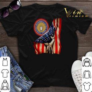 American Flag International Brotherhood Of Electrical Workers shirt sweater