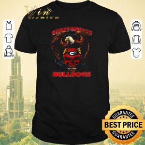 Awesome Eagle Harley-Davidson Georgia Bulldogs logo shirt sweater