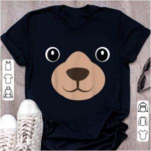 Awesome Halloween Mama Bear Face Costume Kids Bear Face Costume shirt