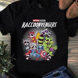 Awesome Raccoon Raccoonvengers Marvel Avengers Endgame shirt