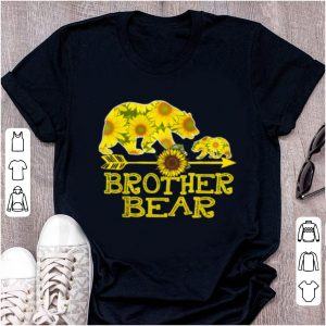 Great Brother Bear Sunflower Funny Mother Father Gifts shirt