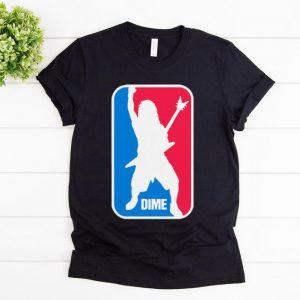 Great Dimebag Darrell NBA Logo DIME shirt