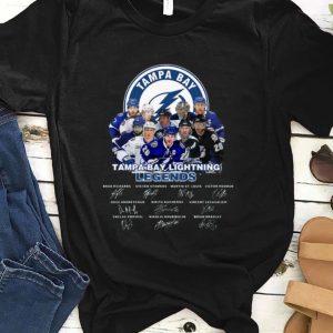 Great Tampabay Lightning Legends Signatures shirt