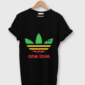 Hot Adidas Roots Rock Reggae One Love shirt