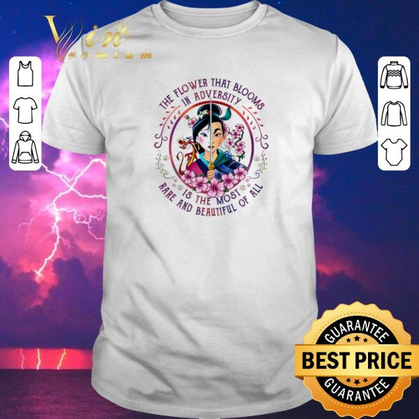 Hot Mulan the flower that blooms in adversity is the most rare and beautiful of all shirt sweater