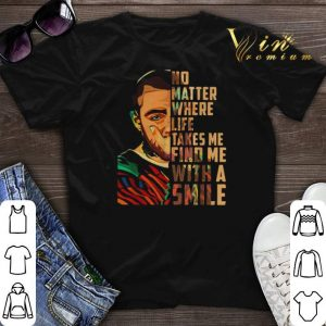 Mac Miller art No matter where life takes me find me with a smile shirt sweater