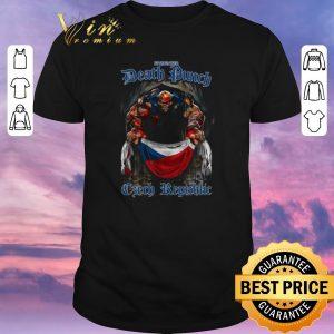 Nice Five Finger Death Punch poster Czech Republic flag shirt sweater