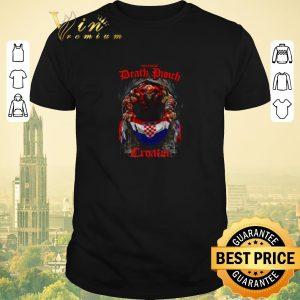 Nice Five Finger Death Punch poster mashup Croatia flag shirt sweater