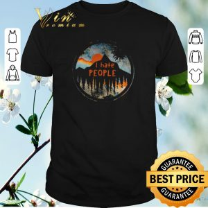 Nice I Hate People Sunset shirt sweater