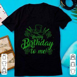 Nice Irish Birthday St Patricks Day shirt