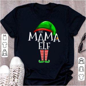 Official Mama Elf Family Matching Group Christmas Gift Grandma Funny shirt