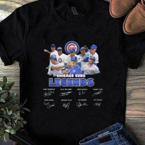 Premium Chicago Cubs Legends Signatures shirt