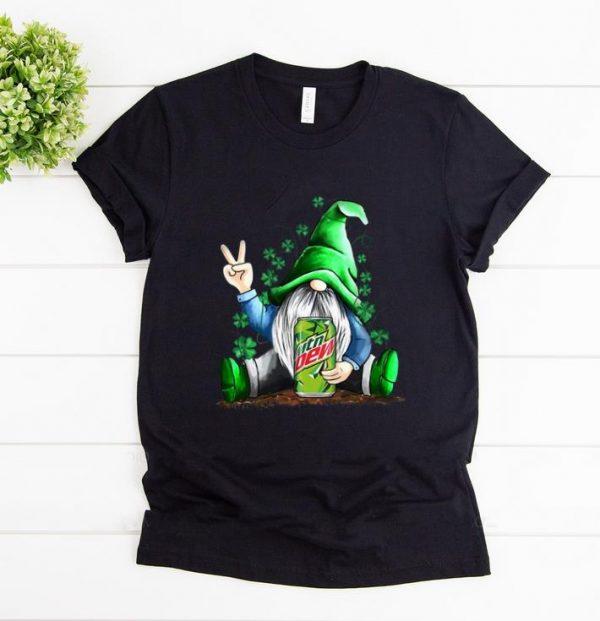 Premium Gnomie hug Mountain Dew Shamrock St Patrick's day shirt