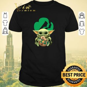 Pretty Baby Yoda hug Girl Scout Star Wars shirt sweater