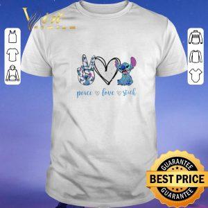 Pretty Peace Love Stitch Disney shirt sweater