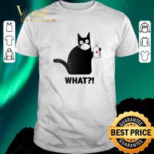 Top Black Cat What Coronavirus shirt sweater
