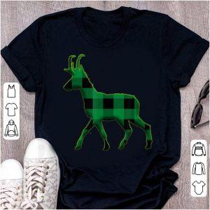 Top Pronghorn Green Plaid St Patricks Day shirt