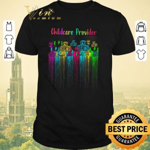 Funny Childcare Provider Watercolor shirt sweater