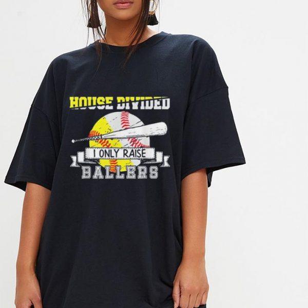 Baseball Softball Divided House Ball Mom shirt
