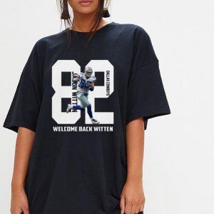 Dallas Cowboys welcome back Jason Witten shirt 2