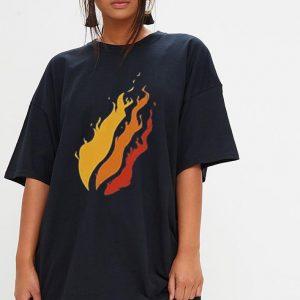 Fire Nation Video Gamer Flame shirt 2