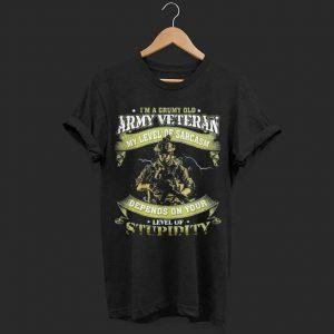 I'm A Grumpy Old Army Veteran shirt