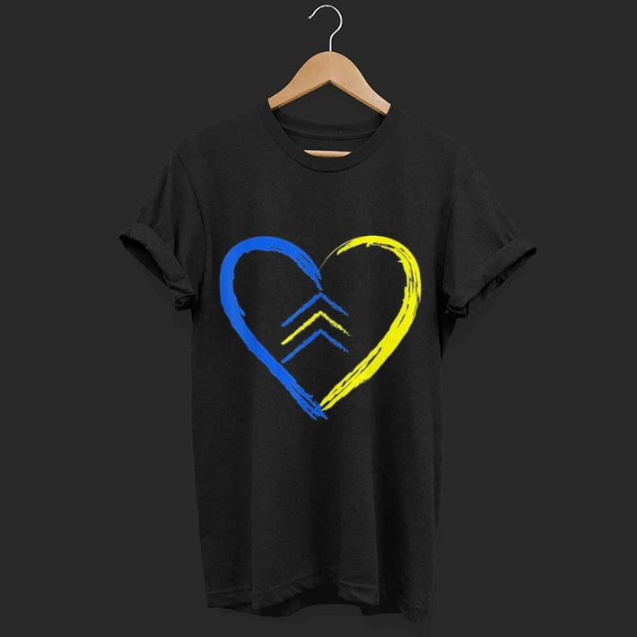 618d41aea723a Love World Down Syndrome Awareness Day Love 3 Arrows shirt, hoodie ...
