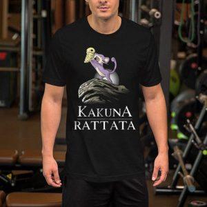 Pokemon Kakuna Rattata shirt