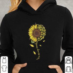 Sunflower You are my sunshine Jeep cars shirt 2