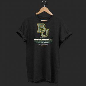 BU Women's basketball Champions baylor bears shirt
